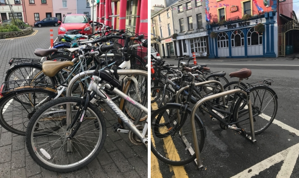 galway daily news cycle bike parking in galway city