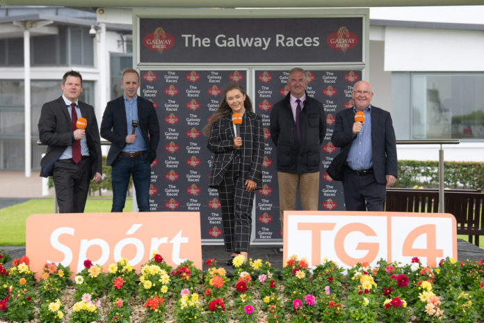 galway daily news tg4 live broadcast from galway races 2021