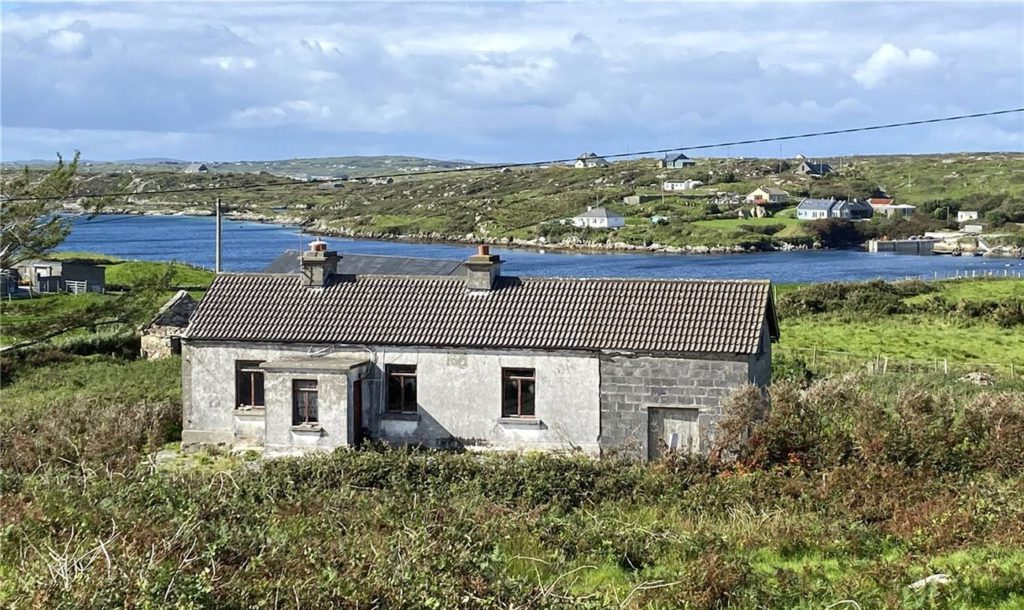 GALWAY DAILY news property for sale with sea views in connemara galway
