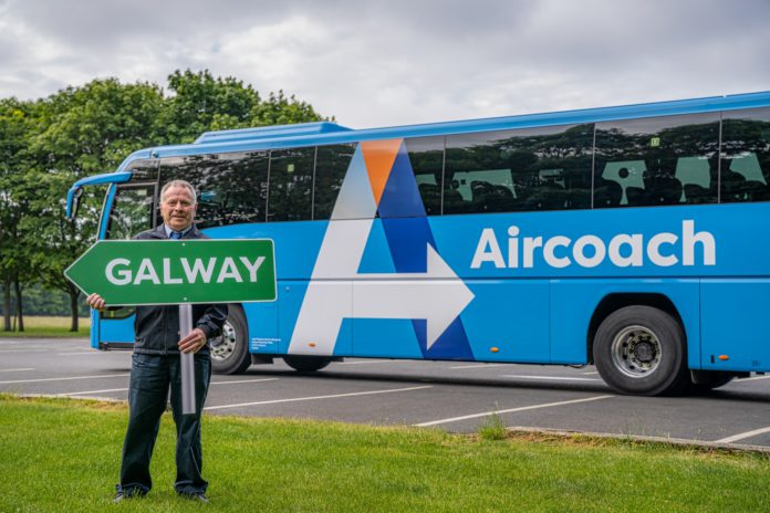 galway daily news aircoach galway to dublin airport route
