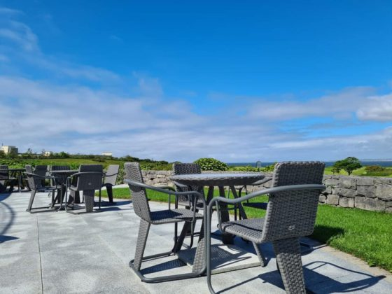 Dinner with a world class view at Galway Bay Golf Resort