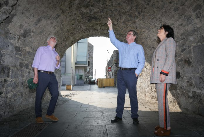 galway daily news minister malcolm noonan spanish arch
