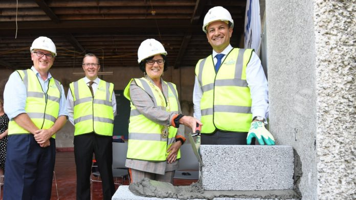 Galway Daily news Tánaiste turns the sod on new €1.6 million PorterShed home