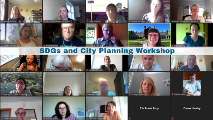 Galway Daily news Councillors and community groups hold workshop on sustainable development in the city