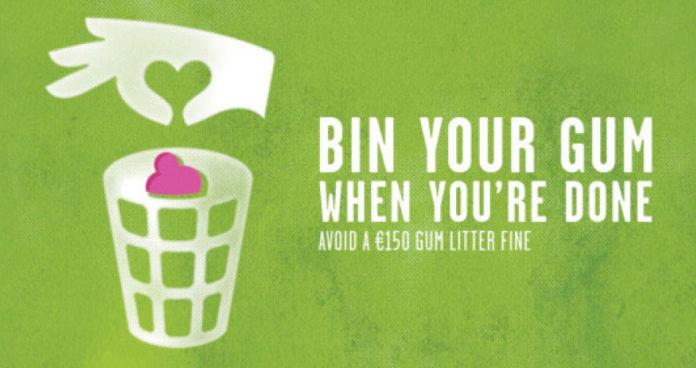 Galway Daily news gum litter taskforce