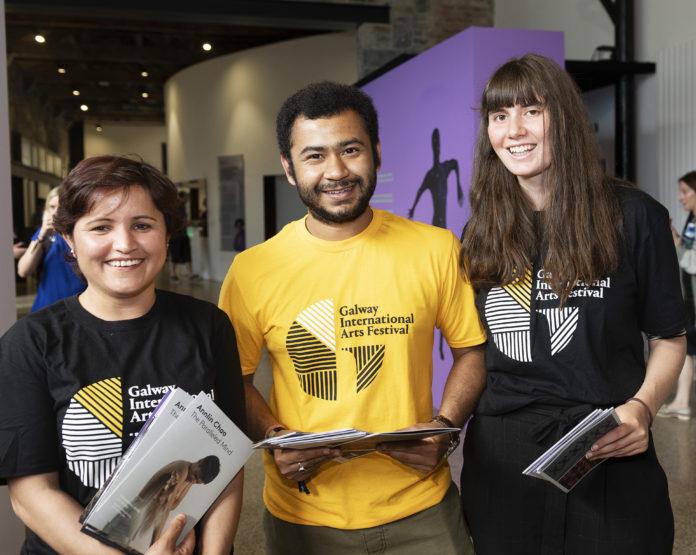 Galway Daily arts Galway Arts Festival seeks volunteers for triumphal return