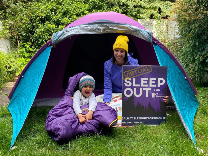 Galway Daily news Sleep Out for Simon to prevent homelessness in Galway