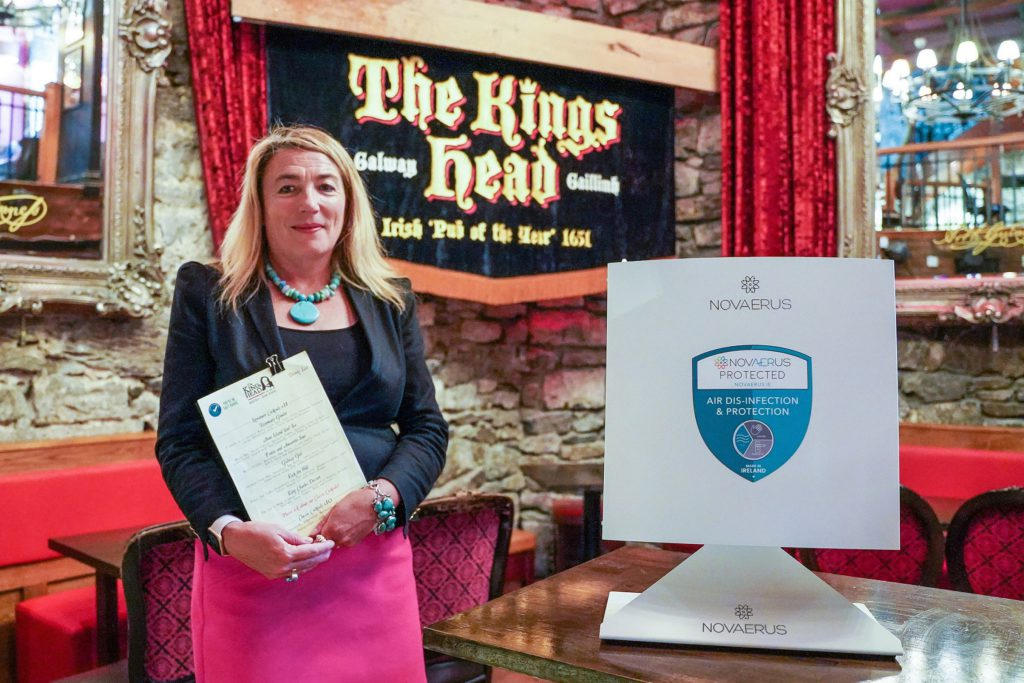 galway daily news kings head galway city covid technology