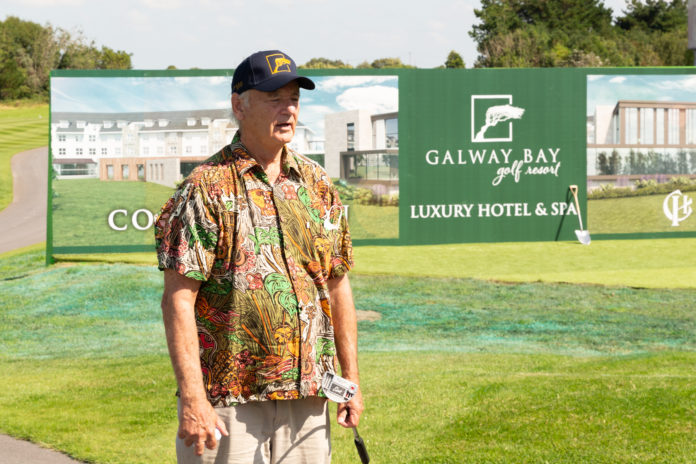 Galway Daily arts Bill Murray takes to the green in Galway for golf show