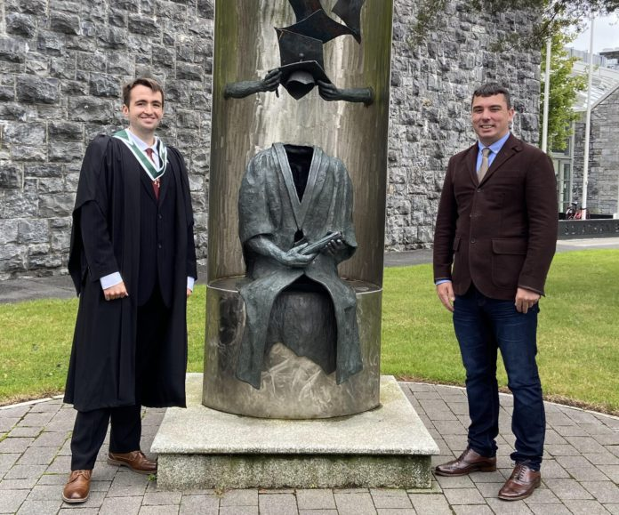 galway daily news traveller education owen ward nuig