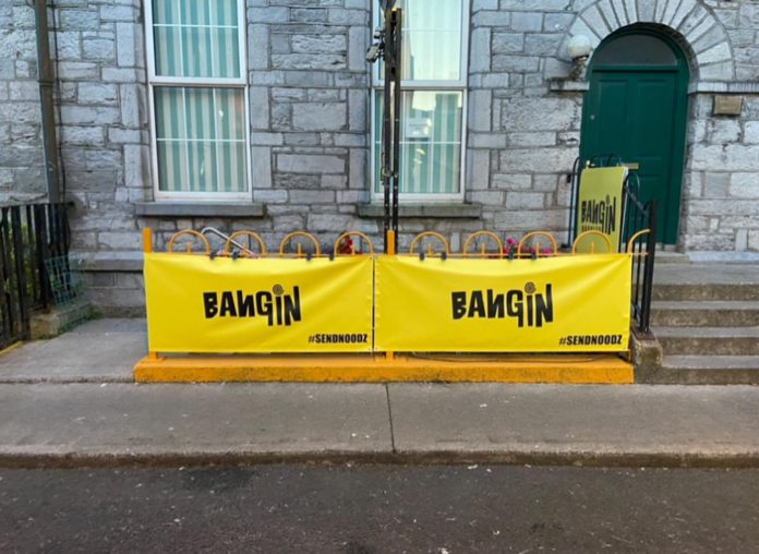Galway Daily news Cheeky thieves return restaurant's sign after viral plea